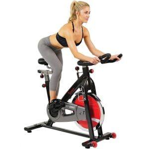 Spinning standing vs. sitting