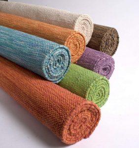 cotton material mat