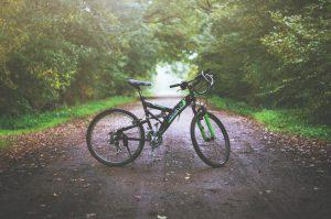 upright road bike